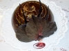 Postre individual tiramisu de chocolate